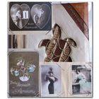 СКИДКА!!! ~ 100 ЛЕТНИЕ !!! открытки в альбоме ручной работы из растений ~ 40 штук ~ Отличный подарок На День Рождения ~