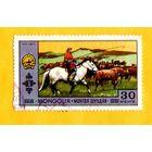 Марка Монголии-1972-Животные