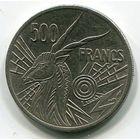 ЦАР - 500 ФРАНКОВ 1976 В