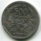 ЧАД - 500 ФРАНКОВ 1985 РЕДКАЯ