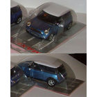 Mini Cooper 1-43 Cararama цвет темно голубой металлик (морской волны)