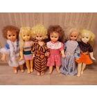 Большие куклы СССР, советские пластмассовые  и резиновые куклы