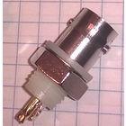 BNC разъемы высокочастотные ((цена за 3 шт)) HYR-0126 (GB-126) (BNC-7035) (BNCI-BJ), гнездо под гайку
