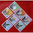Монголия. Фауна и флора. ( 7 марок ) 1974 года.