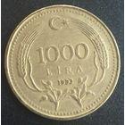 Турция 1000 лир 1993