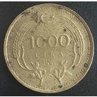 Турция, 1 000 лир 1991