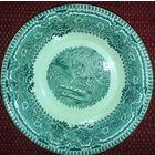 КУЗНЕЦОВ   тарелка красивый рисунок в английском стиле
