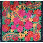 Старинный платок. 20в. ,40-е годы.