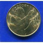 Западная Африка 25 франков 2008 UNC