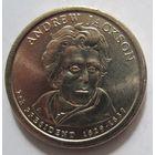 США. 1 доллар 2008 Эндрю Джексон (1829-1837). 367