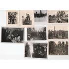 Подборка из 9 фото солдат вермахта, 392-я (хорватская) пехотная дивизия, 3 рейх, оригинал