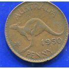 Австралия 1 пенни 1950, Georg VI
