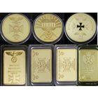 Золото Рейхсбанка Германия 7 шт