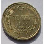 Турция, 1000 лир 1993