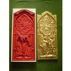 ФОРМЫ 2 шт.- комплект ( для отливки панно , меб. фасада , накладок на входные двери и пр.)