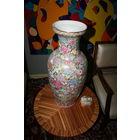 Китайская ваза старая ручная роспись интерьерная большой размер 60 см