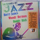 Harry James/Buddy Rich/Woody Herman  - Los Grandes Del Jazz 71 1981, LP