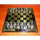 Шахматы сувенирные ручной работы MARINAKIS BROS, Athens, Greece (Афины, Греция).