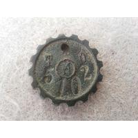 Интересный старинный российский жетон.