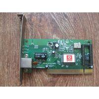 Сетевая карта 10/100мб PCI