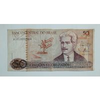 Бразилия. 50 крузадос 1986 года.