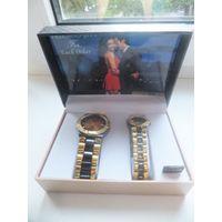 Шикарный подарочный набор пара мужских и женских часов. Покупала в Америке, но так и не пригодился. Очень симпатичный набор. Выбирали для себя. Отличный подарок.
