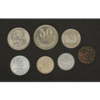 Монеты Азии  - лот1