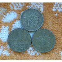 Франция 10 франков 1980 года