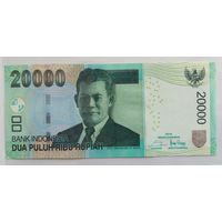 Индонезия 20 000 рупий 2016 (ПРЕСС)