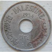 13. Палестина 10 милс 1934 год