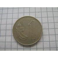 Уругвай 1 новый песо 1980г.