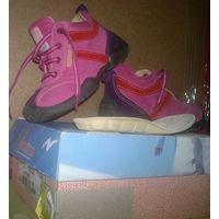 Ботинки на девочку, натуральная кожа, Италия, Naturino, р-р 23
