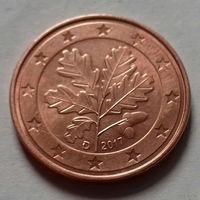 5 евроцентов, Германия 2017 D, AU
