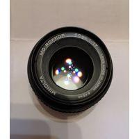 Объектив Minolta MD Rokkor 50/1,7 переделан под Canon EOS