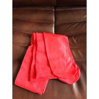 Колготки красные 3-4 Новые очень плотные