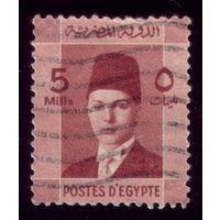 1 марка 1937 год Египет Фарук 227