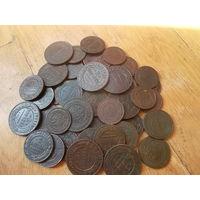 43 монеты с одной лунки