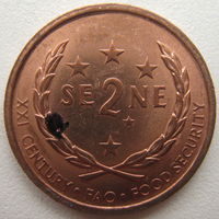 Самоа 2 сене 2000 г. (u)