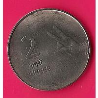 37-08 Индия, 2 рупии 2009 г.