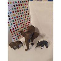 СЛОНЫ Фигурки  животных Schleich(Шляйх,Германия)одним лотом