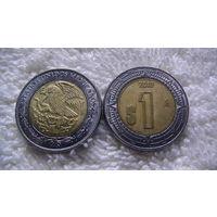 Мексика 1 ПЕСО 2010г биметалл распродажа