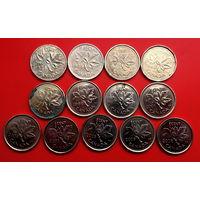 Канада 13 монеток без повторов. Список в описании.