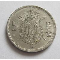 Испания 5 песет 1982