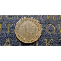 10 пфеннигов 1991 (F) Германия ФРГ #13