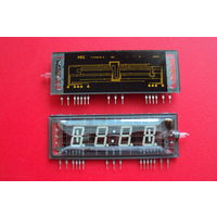 Индикаторы Japan NEC: 4-разрядный FIP4A15A; 5-разрядный FIP5B15