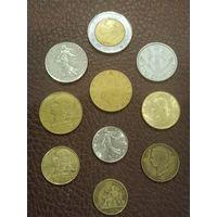 Набор отличных монет Италия