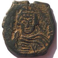 ВИЗАНТИЯ. ИРАКЛИЙ (610-641 г.) НИКОМЕДИЯ. 611 год. АЕ ФОЛЛИС.