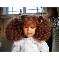 Коллекционная кукла Netty от Ruth Treffeisen