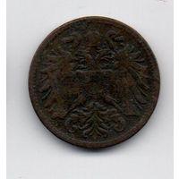 Королевства и Земли, представленные в Рейхсрате, а также Земли Венгерской Короны Святого Стефана. 2 геллера 1897