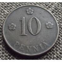 Финляндия. 10 пенни 1921